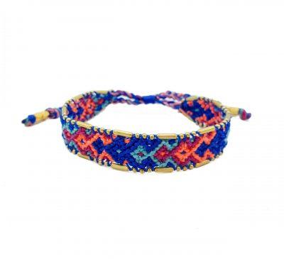 pulseras de colores de moda