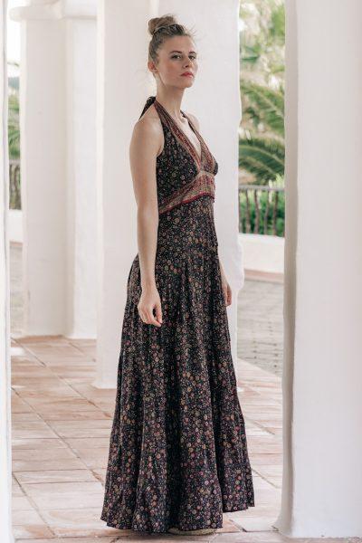 vestido boho elegante