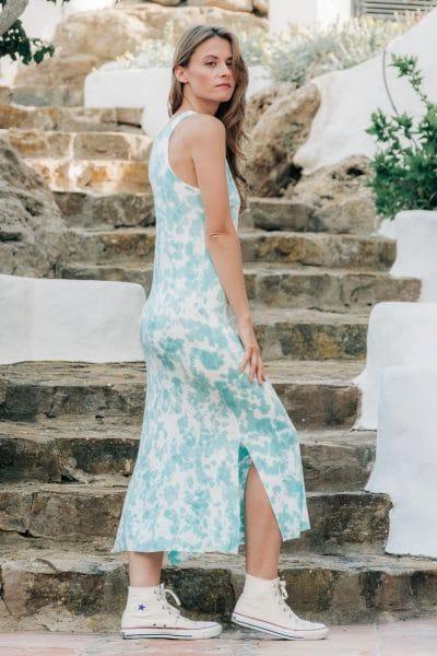 vestido boho largo