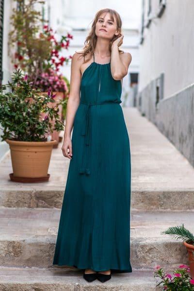 vestido de noche largo