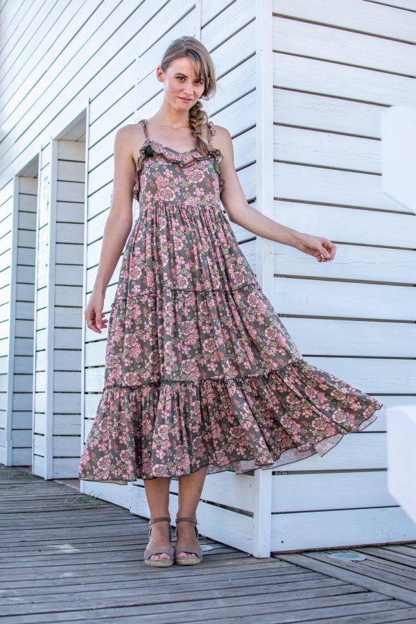 vestido largo bohemio